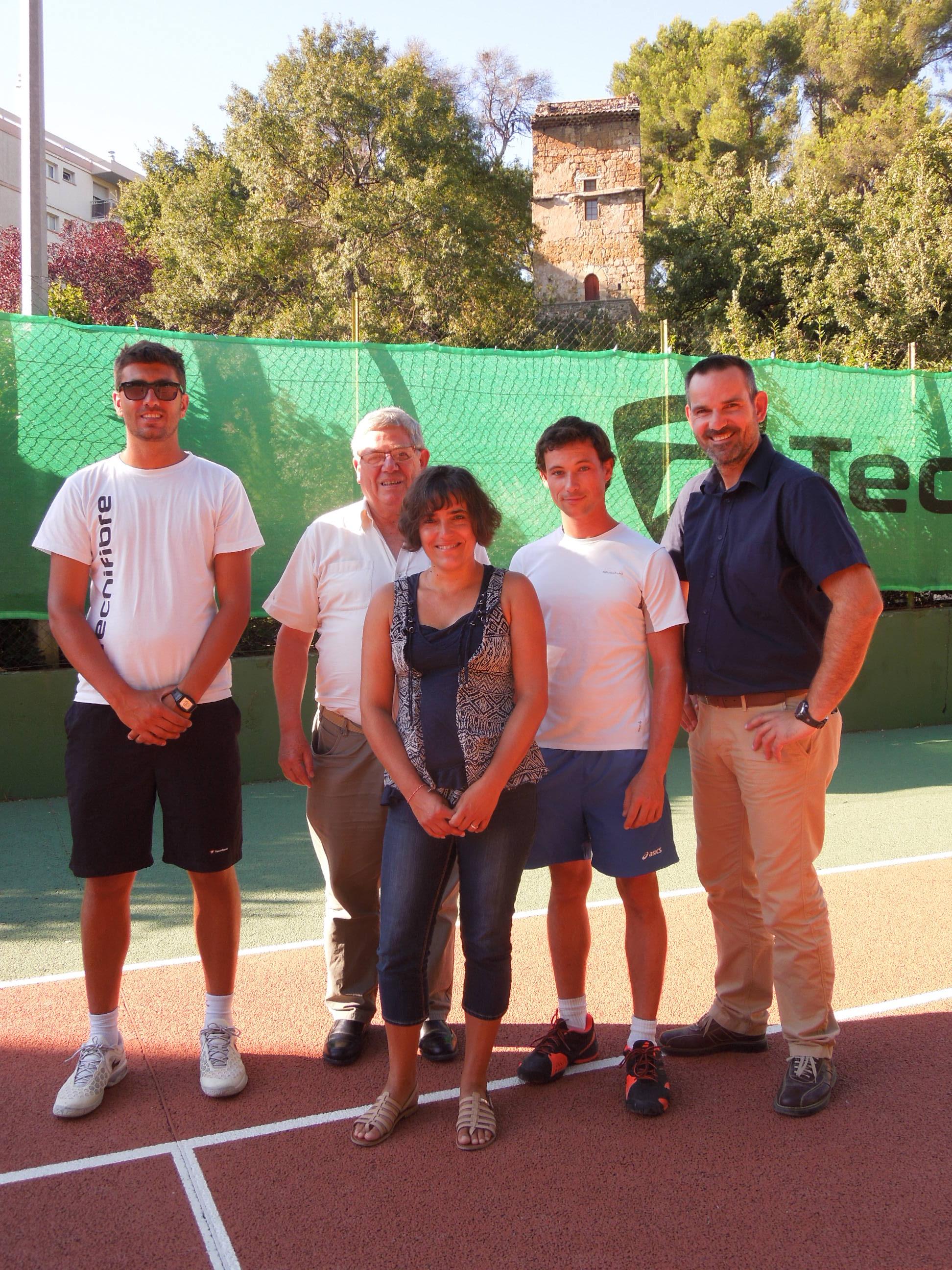 Partenariat Club Tennis Tour d'Aygosi Préparateur Mental Flow