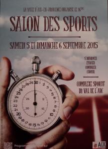 Affiche Forum des Sports 2015