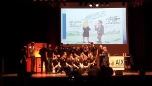 Trophée des Sports 2015 Aix-en-Provence PAUC Handball